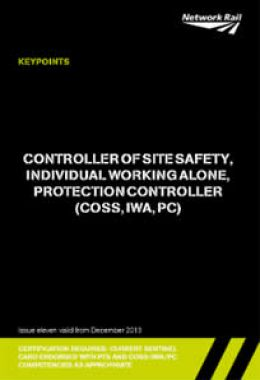 1. Controller of Site Safety,
