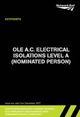 4. OLE A.C. Electrical Isoltions Level A (Nominated Person)